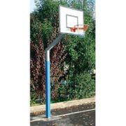 But de basket extérieur 3m à bétonner Lynx Sport