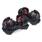 Pack Stepper Elliptique Bowflex Max trainer M5 + Haltères ajustables Bowflex 552i
