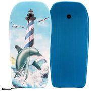 Waimea Planche de surf imprimée dauphin bleu 52WU-KOR-Uni