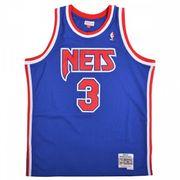 Maillot NBA swingman Drao ?en Petrovi New Jersey Nets 1992-93 Hardwood Classics Mitchell & ness Bleu taille - XS