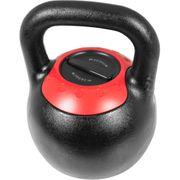 Gorilla Sports - Kettlebell réglable de 8kg à 16kg et 16kg à 24kg