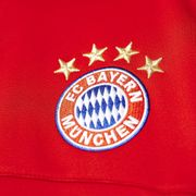 2015-2016 Bayern Munich Adidas Anthem Jacket (Red)