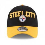 Casquette NFL Pittsburgh Steelers New Era Spotlight 39THIRTY Noir taille casquette - M/L (56.8-60.6cm)