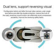 Dashcam camera dvr auto-V100 7 pouces Écran Tactile LCD Rétroviseur de Voiture Enregistreur avec Caméra Séparée, 170 Degrés gran