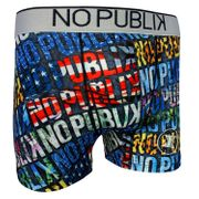 No Publik - Boxer Microfibre Homme Typo