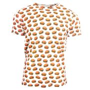 T shirt hamburgers   Homme