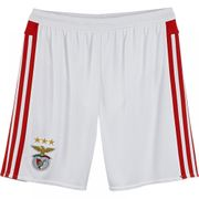 2015-2016 Benfica Adidas Home Shorts (White) - Kids