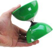 Diabolo Roulement Vert + Baguettes Pro Bleu + Sac + Ficelle Vert