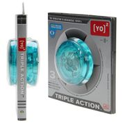 Yoyo Triple Action Active People Couleur Bleu