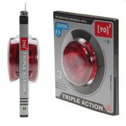 Yoyo Triple Action Active People Rouge