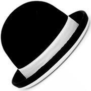 Chapeau de jongle Tumbler Noir et Blanc - Taille 58