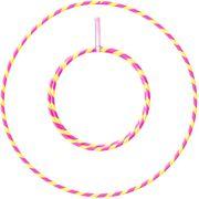 Hula Hoop 1m - 20mm pliable - Rose et Jaune