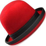 Chapeau de jongle Tumbler rouge/liseret noir - taille 60