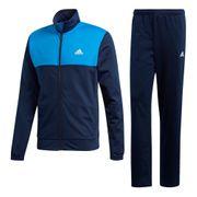 Survêtement 3 bandes adidas Back 2 Basics bleu foncé turquoise
