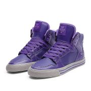 Shoes SUPRA wmns VAIDER PURPLE / LAVENDER - WHITE