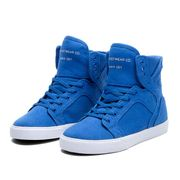 Shoes SUPRA KIDS SKYTOP BLUE - WHITE