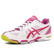 Gel Volley Elite 2 Femme Chaussures Volley-Ball Blanc Asics