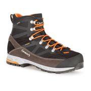 Chaussures de randonnée AKU Trekker Pro GTX marron gris orange