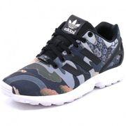 buy popular 34f95 e8dd4 Chaussures ZX Flux Noir Femme Adidas