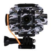 Caméra de sport- S80 1080P 1.5 pouces HD Écran LCD NTK96658 Processeur Sports Action Caméra, Étanche Juu'à 20m, Support de Module de