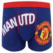Manchester United FC officiel - Lot de 1 boxer thème football - avec blason - homme