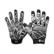 Gant de football américain Cutters S150 Noir pour receveur taille - XL