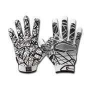 Gant de football américain Cutters S150 Blanc pour receveur taille - S