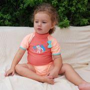 Peachy Mayo Parasol Ensemble tee-shirt anti uv bébé et maillot couche