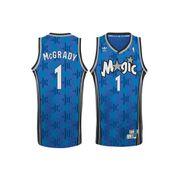 Maillot NBA tracy McGrady Orlando Magic bleu adidas Swingman Hardwood Classics taille - M