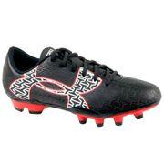 Enfant mixte Chaussure de football Noir