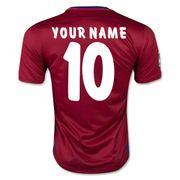 2015-2016 Atletico Madrid Home Nike Football Shirt