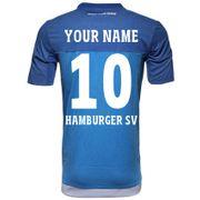 2015-2016 Hamburg Adidas Away Football Shirt