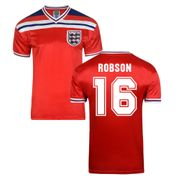 Score Draw England 1982 exterieur Maillot