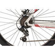 VTT semi-rigide 27,5'' Sharp blanc-rouge TC 51 cm KS Cycling