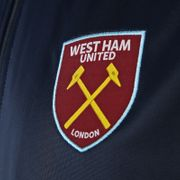 West Ham United FC officiel - Veste de survêtement thème football - style rétro - garçon