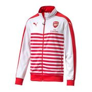 2014-2015 Arsenal Puma T7 Anthem Jacket (Red-White)