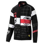 Veste de survêtement Puma Scuderia Ferrari Street Woven Jacket