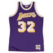 Maillot NBA swingman Magic Johnson Los Angeles Lakers Hardwood Classics Mitchell & ness violet taille - S
