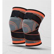 Sports de plein air - genouillères - Orange