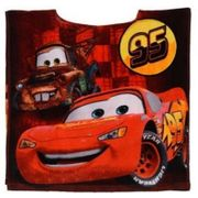 Poncho de bain Cars Disney - unique rouge