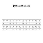 Chaussons d'escalade Black Diamond Momentum Lace gris