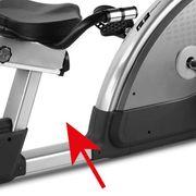 Vélo d'appartement semi-allongé TFR ERGO TFT Écran tactile Touch&Fun. Internet, WIFI, TV, Reseaux