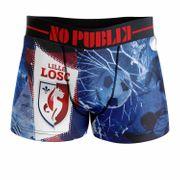 No Publik - Boxer Microfibre Homme Losc Blue Goal