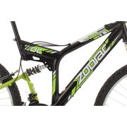VTT tout suspendu 26'' Zodiac noir TC 48 cm KS Cycling