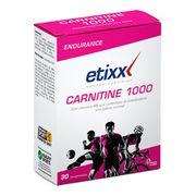 Tablettes Etixx Carnitine 1000 30 tablettes
