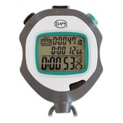 Chronomètre 3 lignes - 200 mémoires Split/Lap