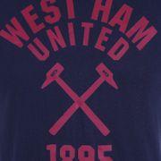 West Ham United FC officiel - T-shirt thème football - motif graphique - homme