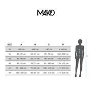 MAKO Neired Black Keys - Maillot Femme Natation