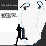 Écouteur bluetooth-008 Dans l'Oreille Crochet d'Oreille de Contrôle du Fil Sport sans Fil Bluetooth Écouteurs avec Micro, Support mains libres