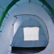 vidaXL Tente de camping avec poutres gonflables 500x220x180 cm Vert